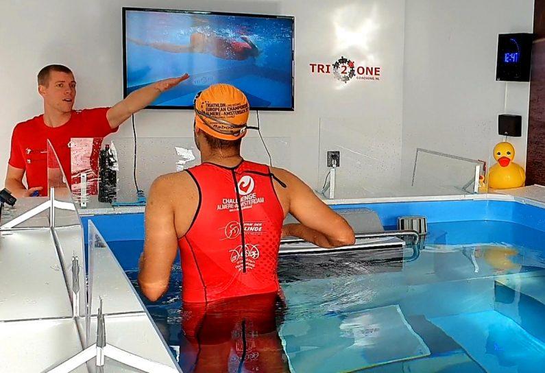Zwemanalyse bij tri2one coahing in lelystad